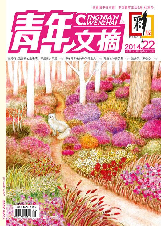 《青年文摘·彩版》2014年第22期炫·暖上市!